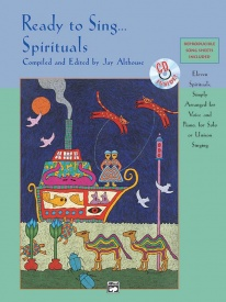 Ready to Sing Spirituals Book & CD published by Alfred