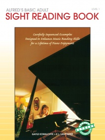 Alfred's Basic Adult Piano Course: Sight Reading Book 1