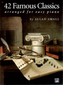 42 Famous Classics for Easy Piano published by Alfred