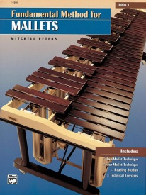 Fundamental Method for Mallets Book 1 by Peters published by Alfred