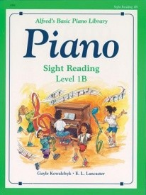 Alfred's Basic Piano Course: Sight Reading Book 1B