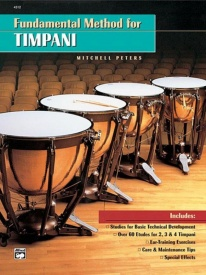 Fundamental Method for Timpani by Peters published by Alfred