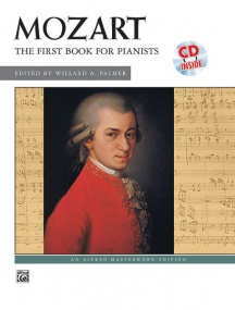 Mozart: First Book for Pianists Book & CD published by Alfred