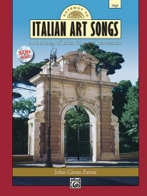 Gateway to Italian Songs and Arias High Voice Book & CD published by Alfred