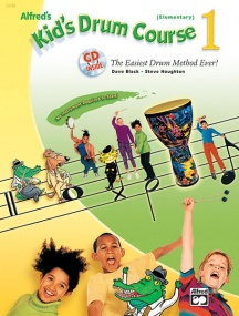 Alfred's Kids Drumset Course 1 Book & CD