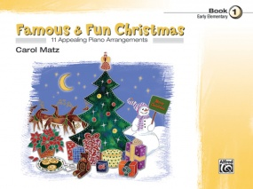 Famous & Fun Christmas 1 for Piano published by Alfred