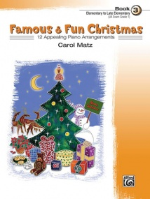 Famous & Fun Christmas 3 for Piano published by Alfred