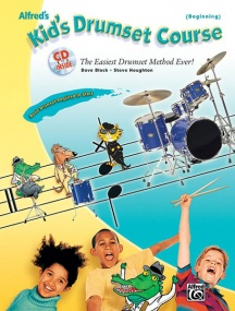 Alfred's Kids Drumset Course (Beginning) Book & CD