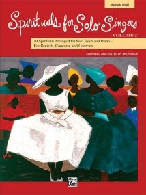 Spirituals for Solo Singers Volume 2 Medium High Book & CD published by Alfred