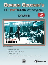 Gordon Goodwin's Big Phat Band Book & CD for Drums published by Alfred