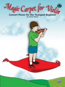 Martin: Magic Carpet Book & CD for Violin published by Alfred