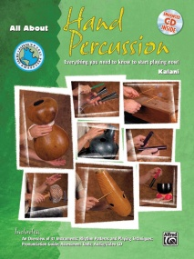 All About Hand Percussion Book & CD published by Alfred