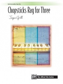 Chopsticks Rag for Three for Piano published by Alfred