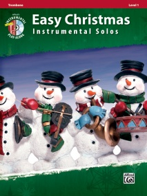 Easy Christmas Instrumental Solos, Level 1 Book & CD published by Alfred - Trombone