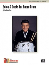 Bellson: Solos And Duets For Snare Drum 1924-2009 published by Alfred