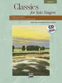 Classics for Solo Singers Medium/Low Book & CD published by Alfred