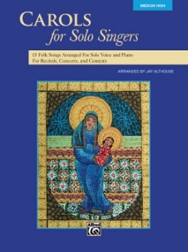 Carols for Solo Singers Medium High published by Alfred