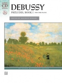 Debussy: Preludes I Book & CD for Piano published by Alfred