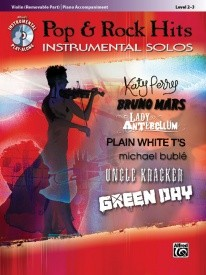 Pop & Rock Hits for the Instrumental Soloist Book & CD for Violin published by Alfred
