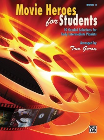 Movie Heroes for Students Book 2 for Piano published by Alfred