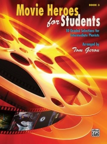 Movie Heroes for Students Book 3 for Piano published by Alfred
