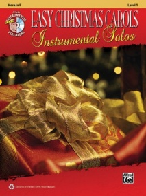 Easy Christmas Carols Instrumental Solos, Level 1 Book & CD published by Alfred - Horn in F