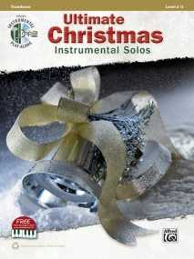 Ultimate Christmas Instrumental Solos Book & CD published by Alfred - Trombone