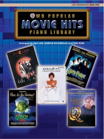 Popular Piano Library: Movie Hits, Level 5 published by Warner