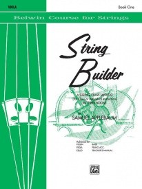 String Builder for Viola Book 1 published by Belwin