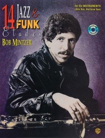 14  Jazz And Funk Etudes for Eb Instruments by Mintzer published by Alfred