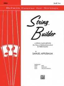 String Builder for Viola Book 2 published by Belwin