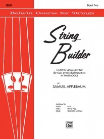 String Builder for Cello Book 2 published by Belwin
