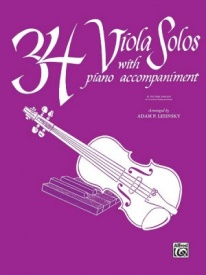 34 Viola Solos published by Belwin