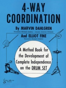 4-Way Coordination for Drumset published by Alfred