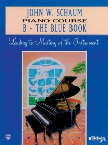 Schaum Piano Course Book B (Blue) published by Alfred