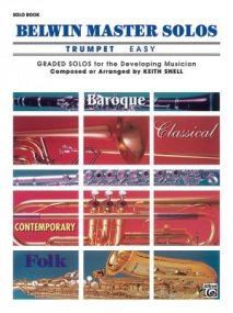 Belwin Master Solos (Easy) for Trumpet published by Alfred