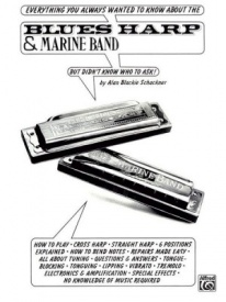 Blues Harp and Marine Band for Harmonica published by Warner