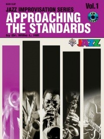 Approaching the Standards Volume 1 Bass Clef Book & CD published by Warner