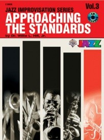 Approaching the Standards Volume 3 in C Book & CD published by Warner