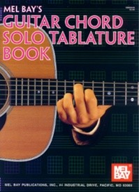 Mel Bay Guitar Chord Solo Tablature Manuscript  Book 16 pages