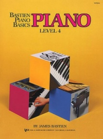 Bastien Piano Basics: Level 4