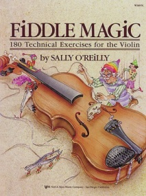 Fiddle Magic - 180 Technical Exercises For The Violin published by Kjos