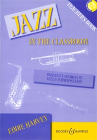 Jazz in the Classroom Teacher's Book & CD published by Boosey & Hawkes