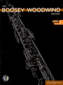 Boosey Woodwind Method 1 Book & CD for Oboe published by Boosey and Hawkes