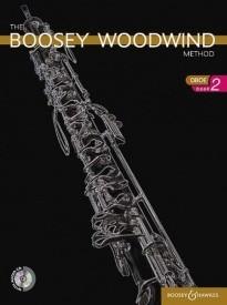 Boosey Woodwind Method 2 Book & CD for Oboe published by Boosey and Hawkes