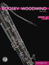 Boosey Woodwind Method 2 Book CD for Bassoon published by Boosey and Hawkes