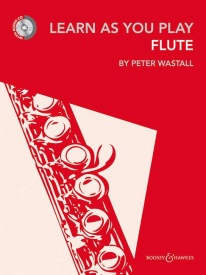 Learn As You Play Flute Book & CD by published by Boosey and Hawkes