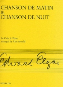 Elgar: Chanson De Matin And Chanson De Nuit for Viola published by Novello