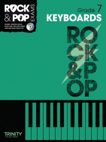 Trinity College Rock & Pop Keyboards Grade 7 Book & CD 2012-2017