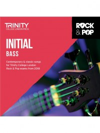 Trinity Rock & Pop Bass Guitar Initial Grade From 2018 (CD ONLY)